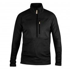 Fjallraven Abisko Trail Pullover fleece trui heren black