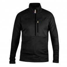 Fjallraven Abisko Trail Pullover fleece trui heren black
