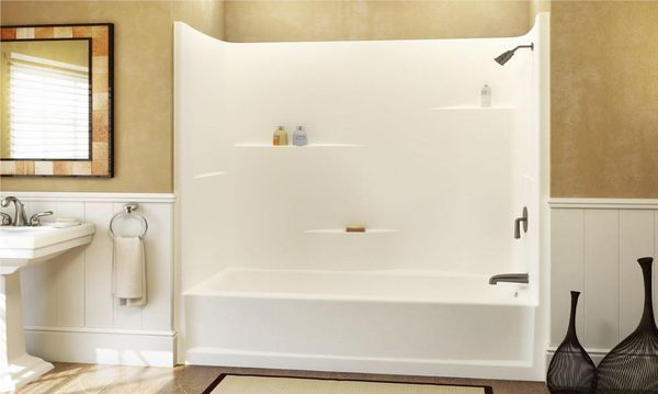 Get Rid Of Soap Scum On Every Bathroom Surface Fiberglass Shower Stalls Replace Tub With