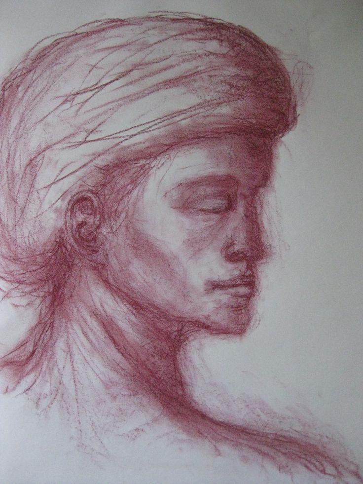 crayon on paper (RegienSlotema)