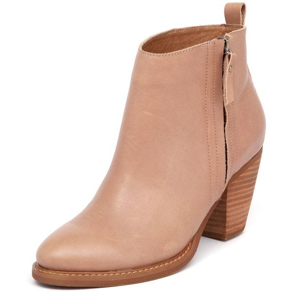 Mollini Matcher Tan (200 AUD) ❤ liked on Polyvore featuring shoes, boots, ankle booties, short leather boots, tan leather boots, leather boots, high heel booties and leather booties