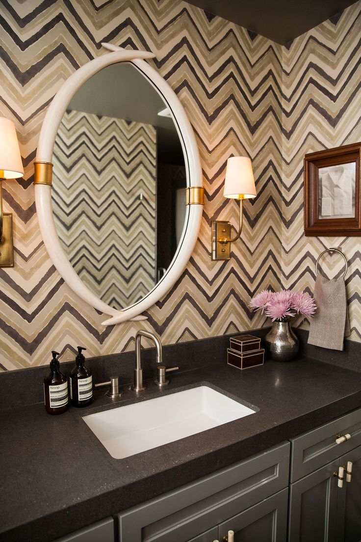 Powder Room Wallpaper 29 Best Powder Rooms Images On Pinterest Bathroom Ideas Home