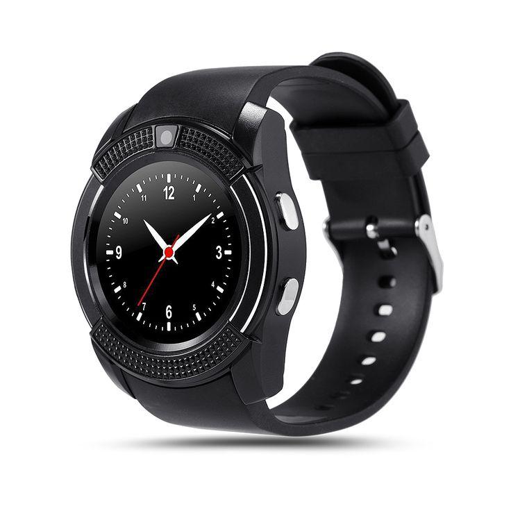 Sportuhr Mit Kamera Full Screen Smart Watch V8 Für Android Spiel Smartphone Unterstützung TF SIM Karte Bluetooth Smartwatch PK GT08 //Price: $US $27.19 & FREE Shipping //     #smartwatches
