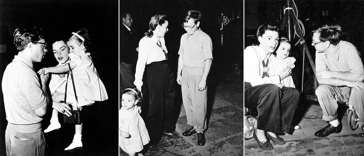 Judy Garland, Liza Minnelli and Mickey Rooney | Rare, weird & awesome celebrity photos