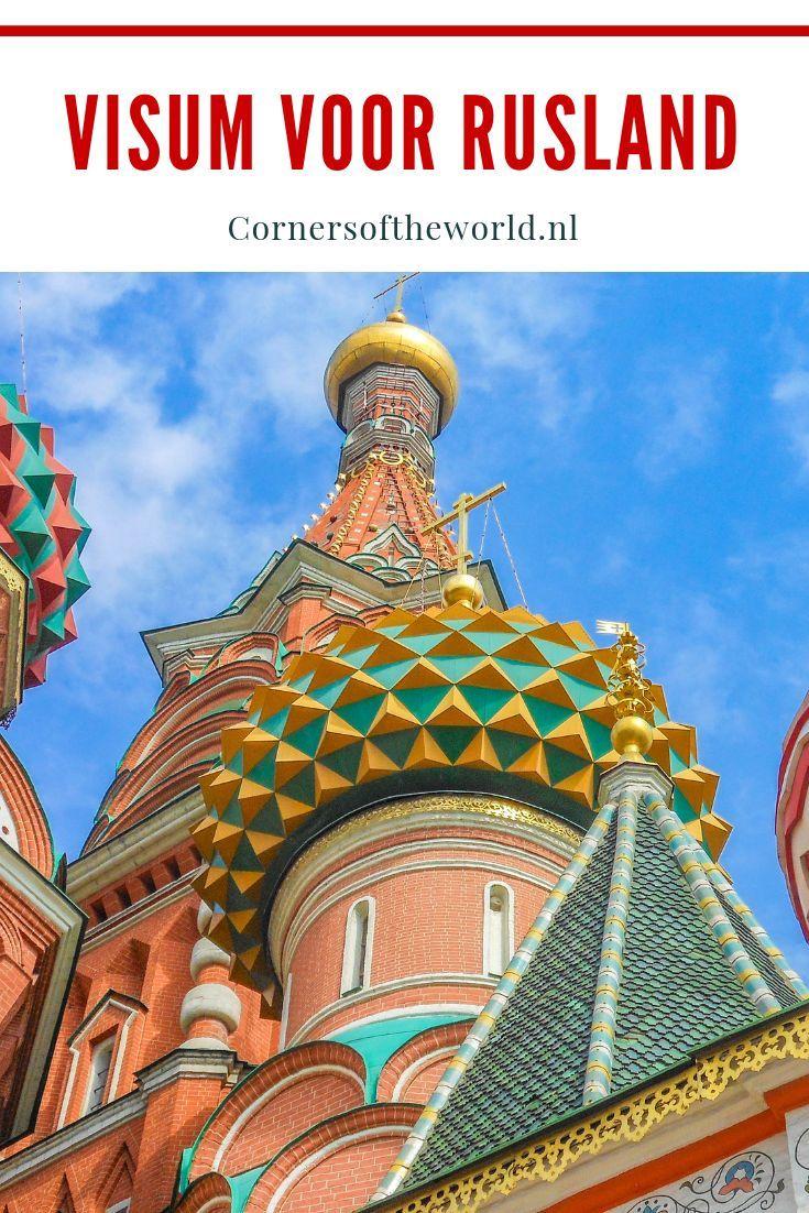 reizen naar rusland visum
