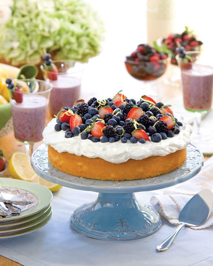 Southern Lady Magazine Lemon Pound Cake Limoncello Cream