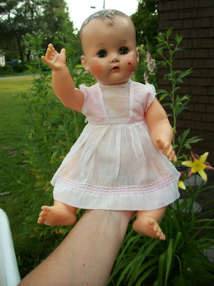 vintage betsy wetsy doll | Vintage 1955 Ideal Betsy Wetsy Doll With Original by rustysecrets