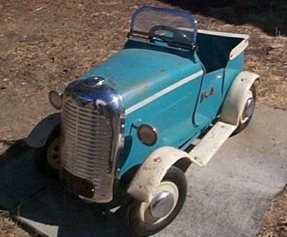 1930s canada tri ang thistle pedal car in original condition kids carspedal carsvintage
