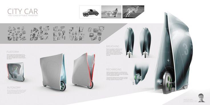 David Voltner - AFAD - City car poster