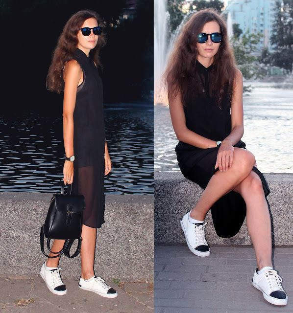 KIAMYSEL: Черно-белое лето (outfit)
