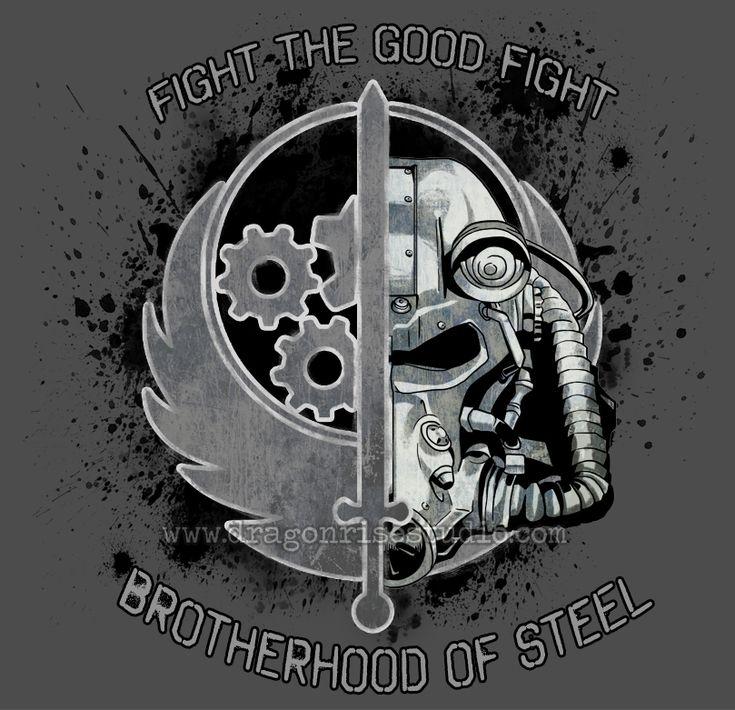 Brotherhood of Steel: The Good Fight by DragonSpirit469.deviantart.com on @DeviantArt
