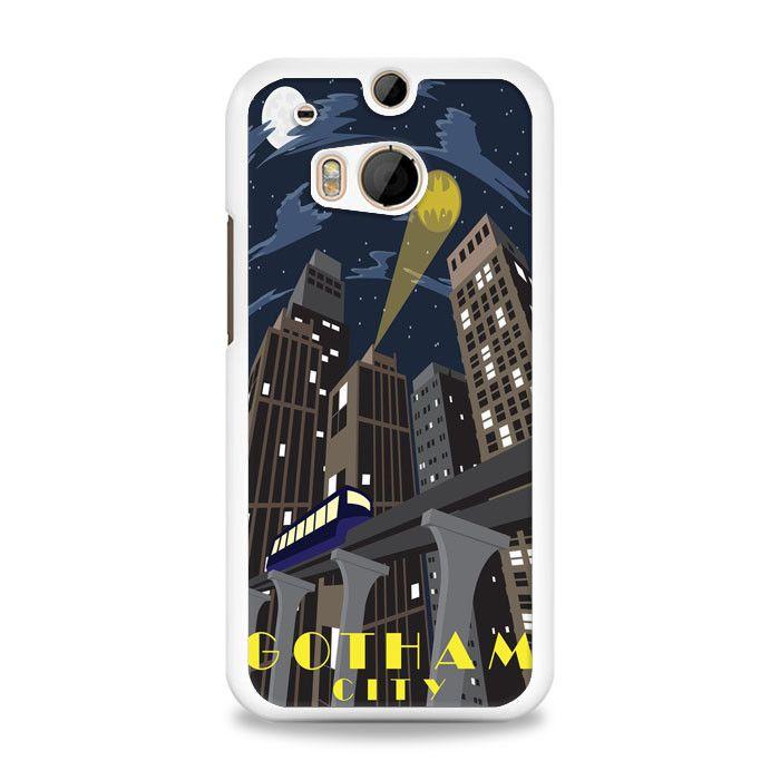 Gotham Batman City HTC One M8 Case | yukitacase.com