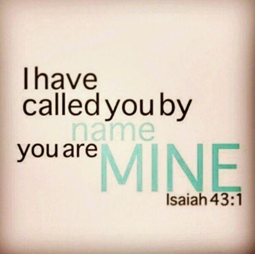 Isaiah 43:1