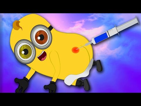 Minions Banana Balloon Strings Funny Cartoon ~ Minions Mini Movies 2016 [HD] - YouTube