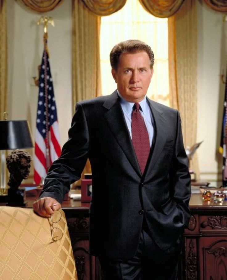 Love love love Martin Sheen on the West Wing
