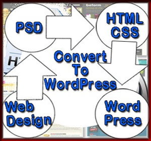 PSD to WordPress Conversion is easier if the client supplies a layered psd file.