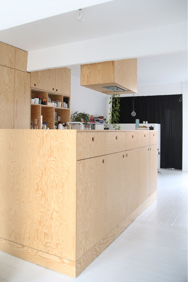Internal Design, Wood Interiors, Osb, Plywood Kitchen, Kitchen Designs,  Knock Knock, Architecture Design, Castle, Deer