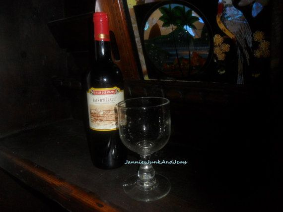 OOAK   Very Rare  Drinking Goblet / Glass  Non by GlassEyedGoblin, €65.00