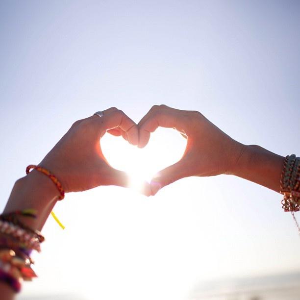 Mijn eerste liefde, altijd en overal, de zon