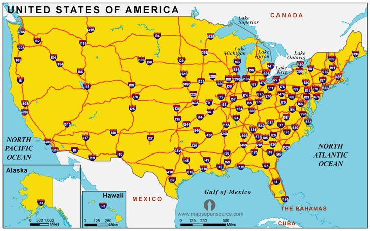 ... US 2 Highway Map additionally Us Interstate Highway System Map additionally Interstate Map Eastern United States ... Map Of United States Interstates