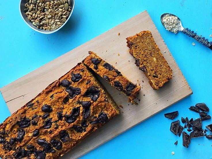 Gluten Free, Refined Sugar Free Vegan Pumpkin Bread