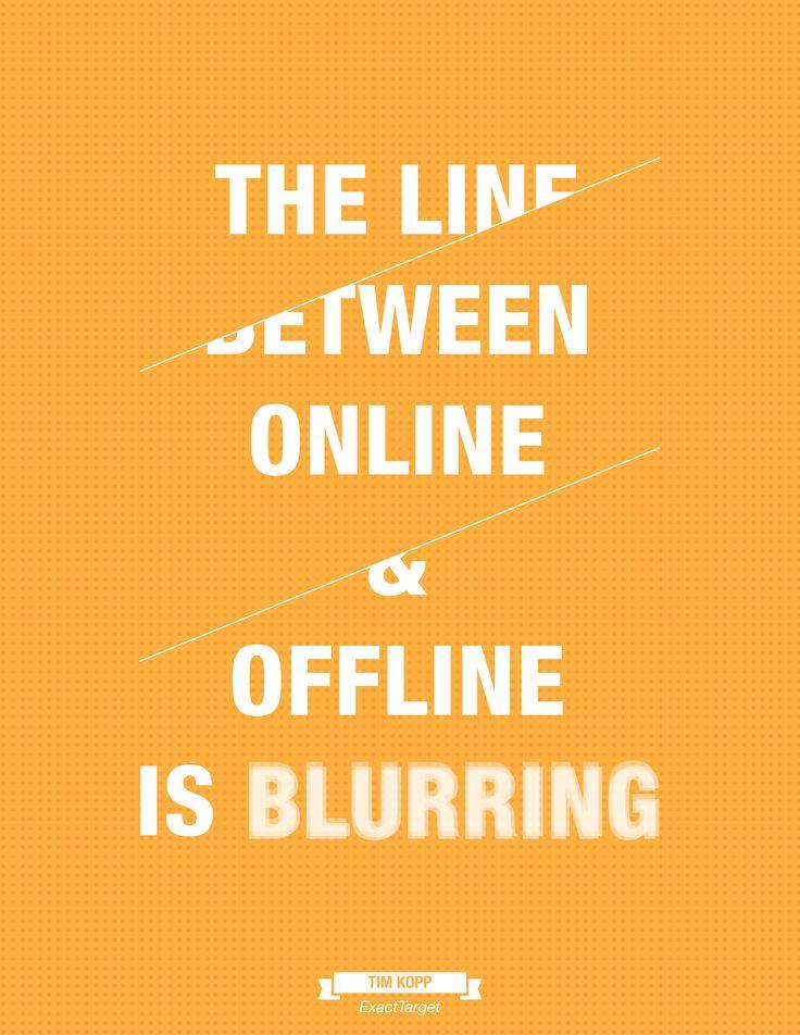 Linia między Online i Offline się zaciera.