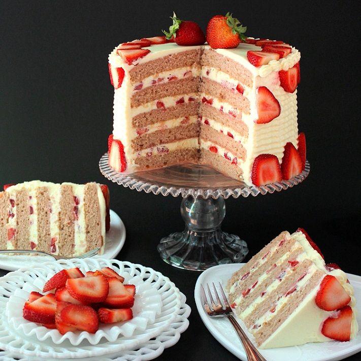 gateau aux fraises111