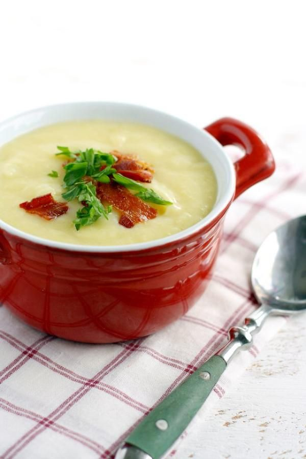 Creamy Potato Leek Soup. | Soup Recipes | Pinterest | Soups, Potatoes ...