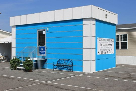 EasyTrim Reveals aluminum trims with fiber cement trims turn simple portable buildings into interesting modern facilities. #EasyTrimRevalsWhoWeAre