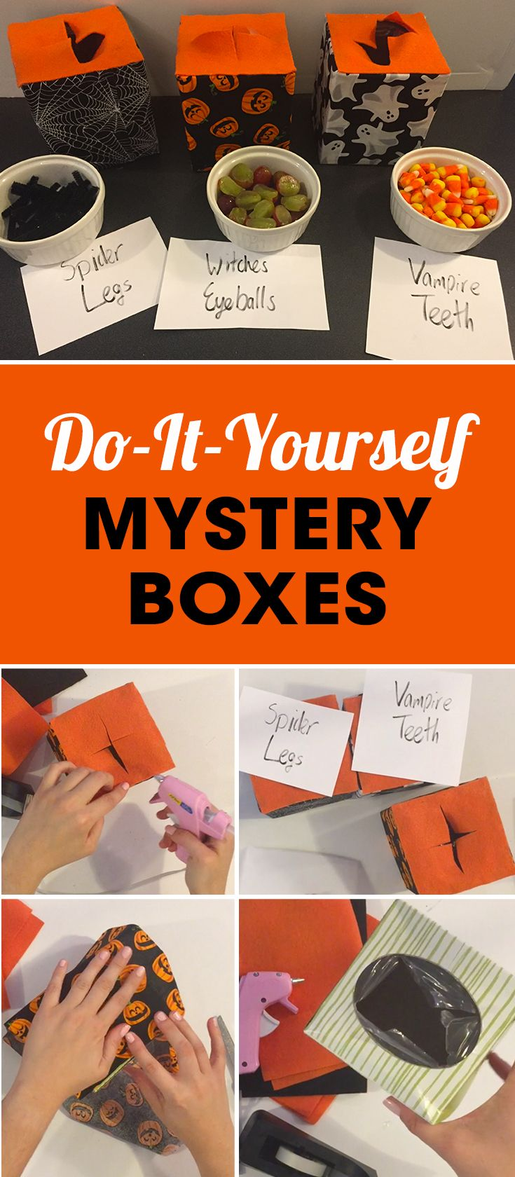109 best mystery parties for kids images on pinterest forensic create these mystery boxes then blindfold someone kristyandbryce Image collections