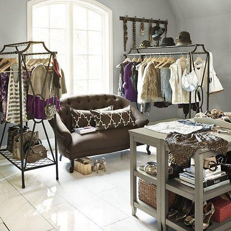 Fresh Creating Closet Space with No Closet