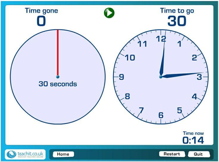 zegar do odliczania czasu pracy uczniów