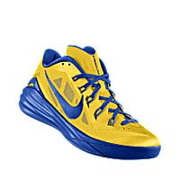 I designed the tour yellow Nike Hyperdunk 2014 Low iD men\u0027s basketball shoe  with game royal