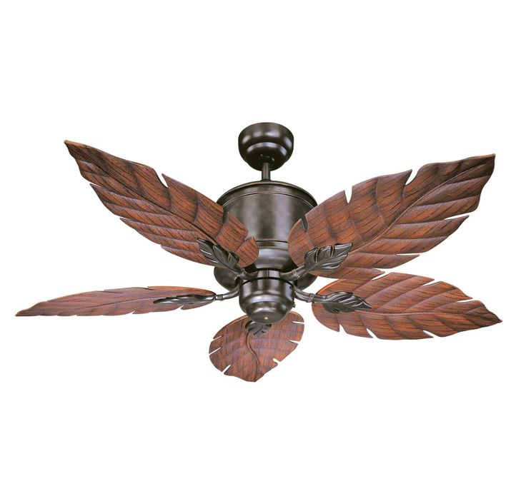 This Savoy House fan would look great under an arbor!