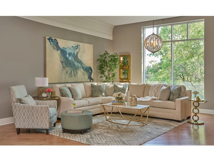 Featured Product CAMDEN LIVING ROOM STYLED-CAMDEN from Walter E. Smithe Furniture + Design