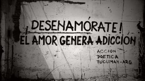 Desenamórate! el amor genera adicción.