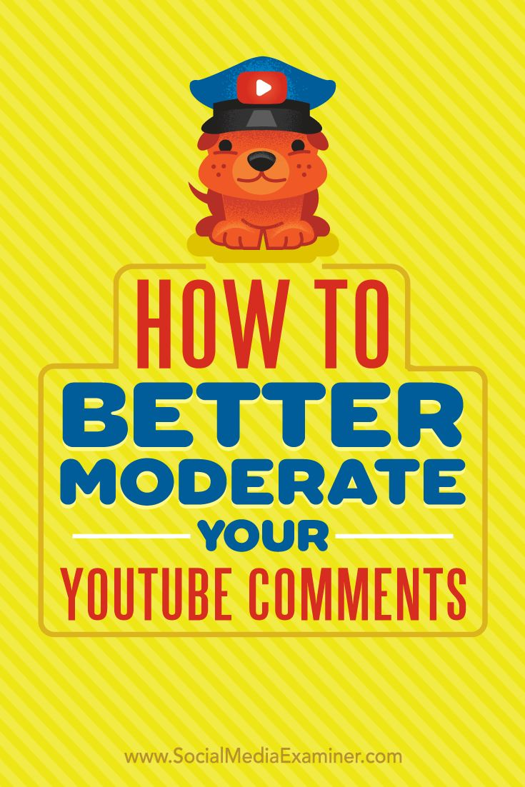 YouTube has made it easier to weed out irrelevant, inappropriate, or offensive comments so you can spend time engaging with the people who matter most.