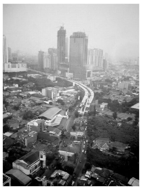 Jakarta- Fly over project Casablanca