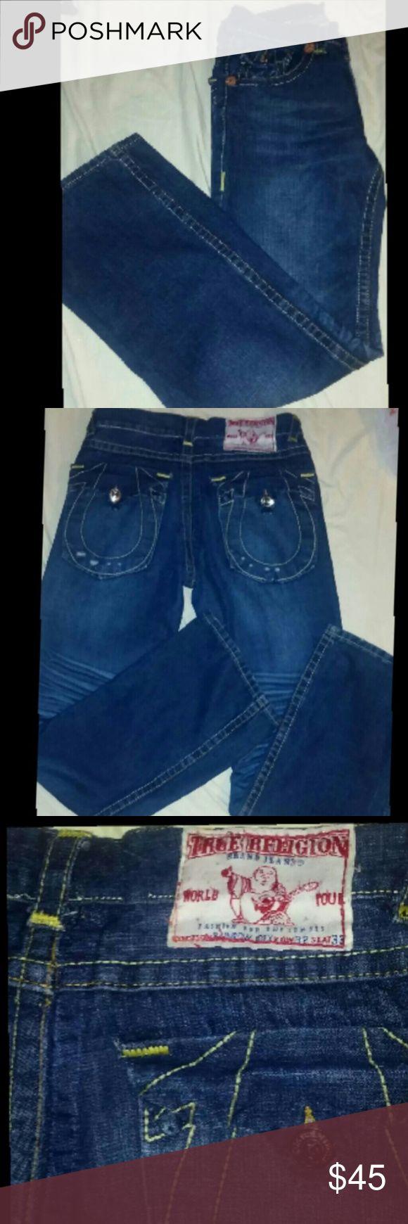 Mens True Religion Jeans Mens True Religion Jeans  Sz 32 X 33 True Religion Jeans