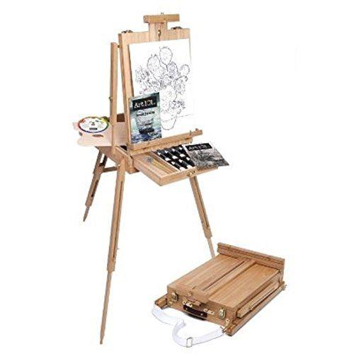Art101 Sketch Box Portable Easel + Supplies