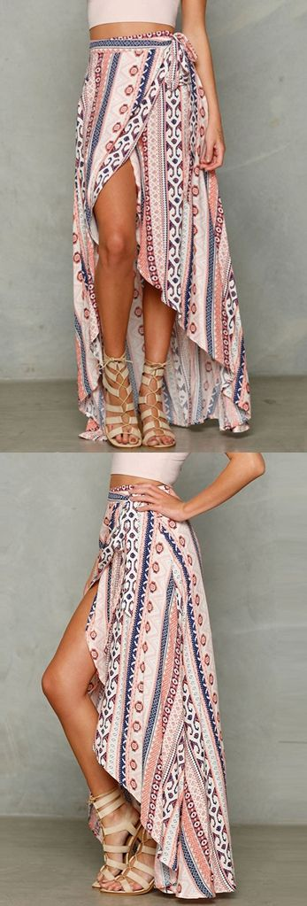 Summer Sexy Ladies Women Boho Long Maxi evening party skirt Beach Dress Sundress