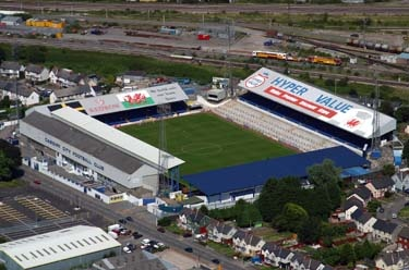 Used to be home to a team who I utterly despise. They've now moved and sold out to Malaysia. Ninian Park - Cardiff City FC