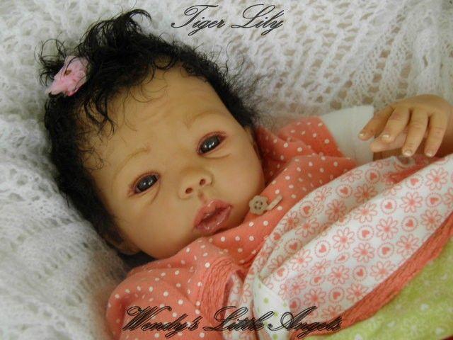 Mixed Race Dolls Gorgeous Lifelike Mixed Race Reborn