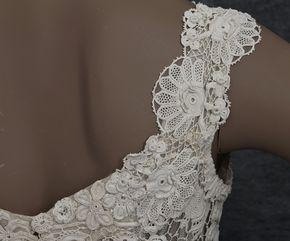 Одежда на короля Эдуарда Vintage Текстиль: # 2785 ирландские свадебные платья крючком