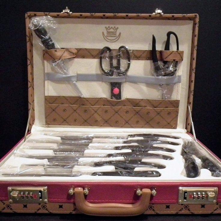 24 Piece Monalisa Chef Kitchen Knife Set