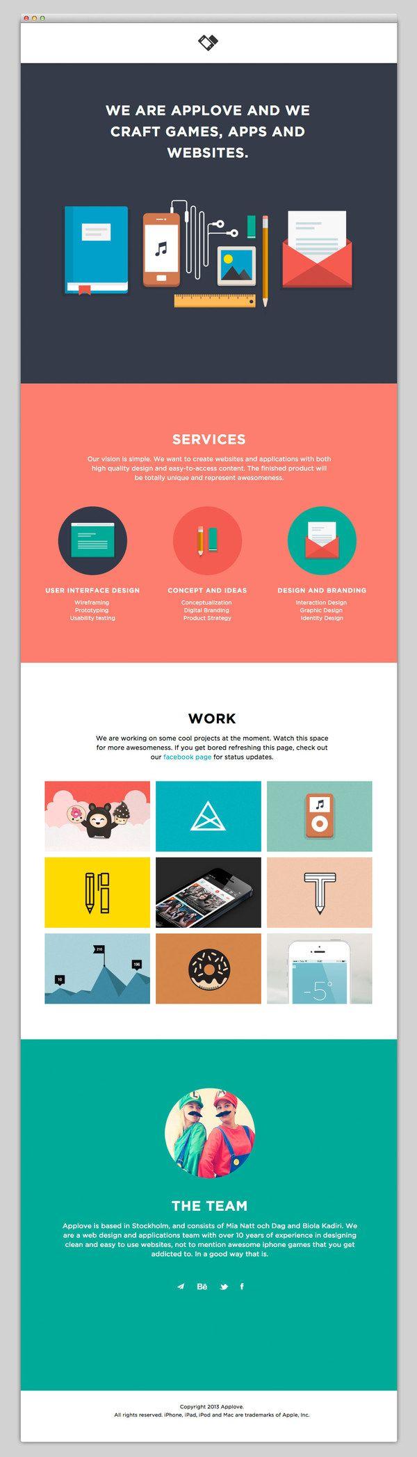 Websites We Love / Applove