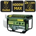 Sportsman 4,000-Watt Clean Burning LPG Propane Gas Powered Portable Generator with RV Outlet-GEN4000LP - The Home Depot