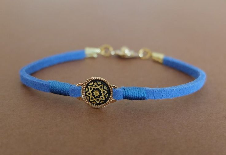 Bracelet with Toledo gold-painted star, Polina Usatova (2014)