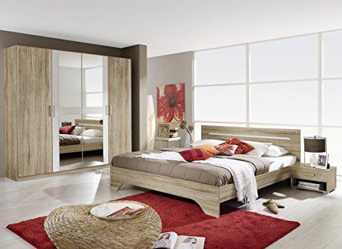 AVANTI TRENDSTORE – Camera completa in colore quercia sanremo chiaro/ bianco – compreso il letto con 2 comodini e l'armadio  http://www.mobilionline.info/shop/mobile-da-camera-da-letto/mobile-completo-da-camera-da-letto/avanti-trendstore-camera-completa-in-colore-quercia-sanremo-chiaro-bianco-compreso-il-letto-con-2-comodini-e-larmadio/
