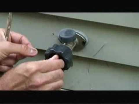 Fixing A Frost Free Faucet For The Home Pinterest